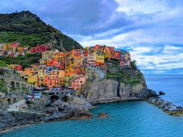 The most colorful cities in Europe featured