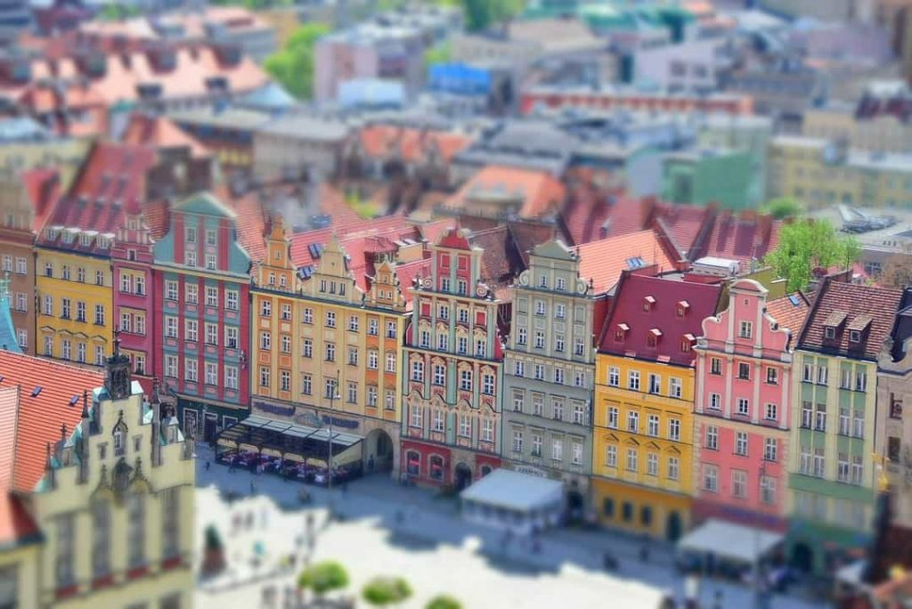Wroclaw - Poland one of the most colorful cities in Europe.
