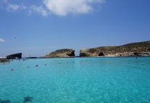 Malta Travel Guide Blue Lagoon in Comino Malta
