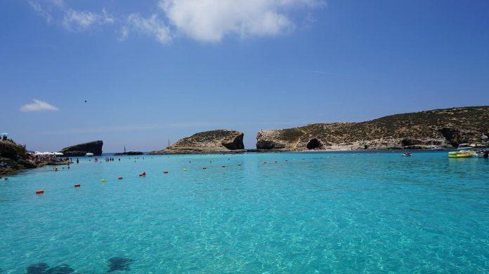 Malta Travel Guide Blue Lagoon in Comino Malta