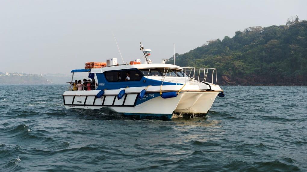 A Passenger ferry to Panjim
