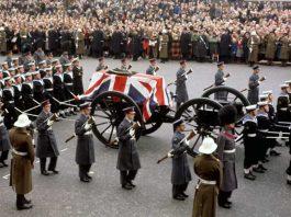 farewell to Winston Churchill