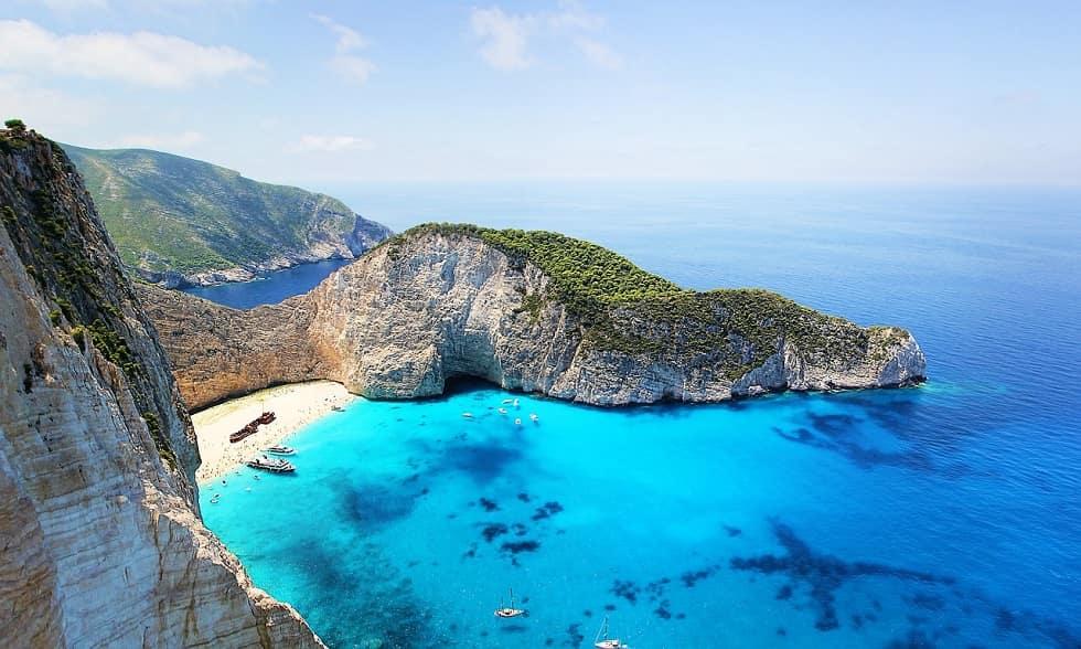 Smugglers Wreck,  Zakynthos Greece