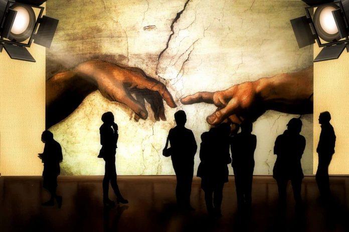 See Michelangelo's Sistine Chapel