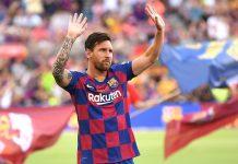 Messi leaving Barcelona